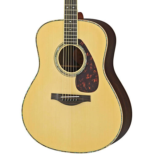 Yamaha LL16RD L Series Solid Rosewood/Spruce Dreadnought Acoustic-Electric Guitar-thumbnail