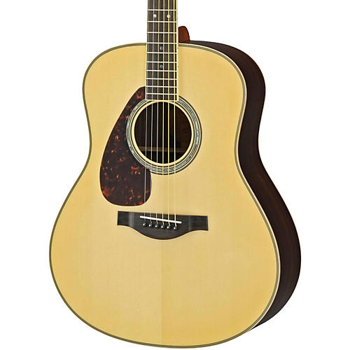 Yamaha LL16RL L Series Solid Rosewood/Spruce Dreadnought Left-Handed Acoustic-Electric Guitar