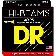 DR Strings LLR-40 Hi-Beams Lite 4-String Bass Strings