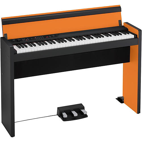 Korg LP-380 Lifestyle Digital Piano Orange and Black