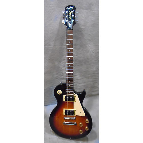 Epiphone LP100 Les Paul Vintage Sunburst Solid Body Electric Guitar