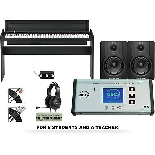 Korg LP180BK 88 Key Digital Piano Lab-thumbnail