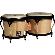 LP LPA601 Aspire Oak Bongos with Black Hardware Level 1 Natural