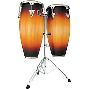 LP LPA646 Aspire Conga Set with Double Stand by LP