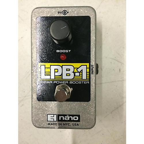Electro-Harmonix LPB1 Nano Power Booster Effect Pedal-thumbnail