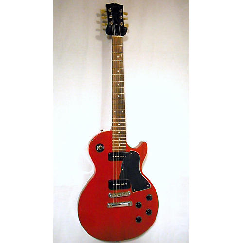 used gibson lpj solid body electric guitar cherry guitar center. Black Bedroom Furniture Sets. Home Design Ideas