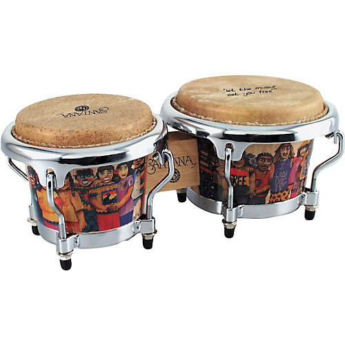LP LPM200 Santana Mini Tunable Bongos-thumbnail