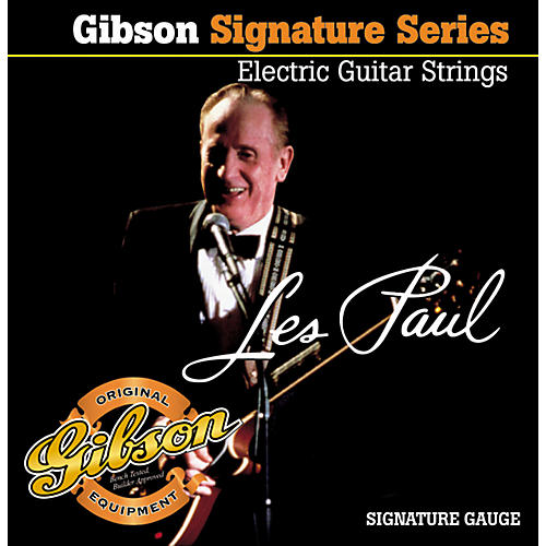Gibson LPS Les Paul Signature Electric Guitar Strings-thumbnail
