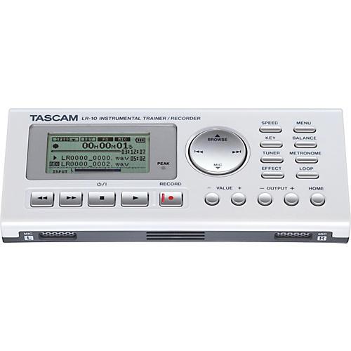 TASCAM LR-10 Instrument & Vocal Trainer/Recorder