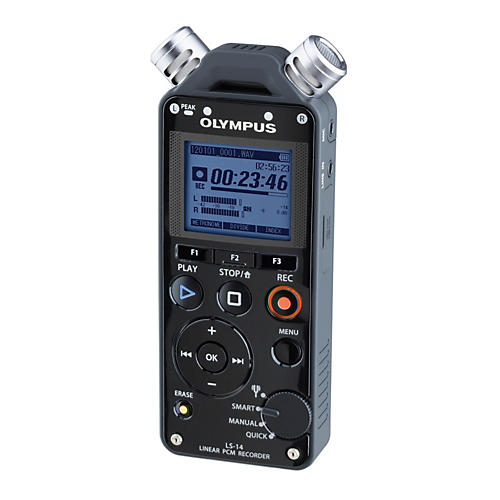 Olympus LS-14 Linear PCM Recorder Black