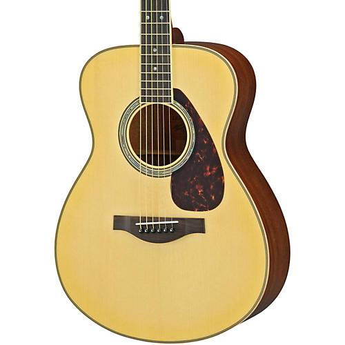 Yamaha LS16M L Series Solid Mahogany/Spruce Concert Acoustic-Electric Guitar-thumbnail