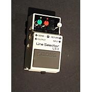 Boss LS2 Line Selector Pedal
