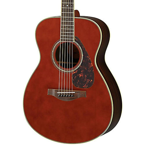 Yamaha LS6R L Series Rosewood/Spruce Concert Acoustic-Electric Guitar Dark Tinted Natural