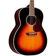 Washburn LSJ743 Lakeside Jumbo With Solid Spruce Top Rosewood Back and Sides Acoustic Guitar