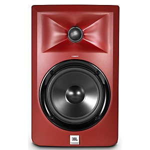 JBL LSR305 5 in. Limited Edition Powered Studio Monitor - Matte Red by JBL