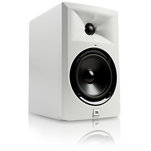 JBL LSR305-WH 5 inch Powered Studio Monitor - Limited Edition White by JBL