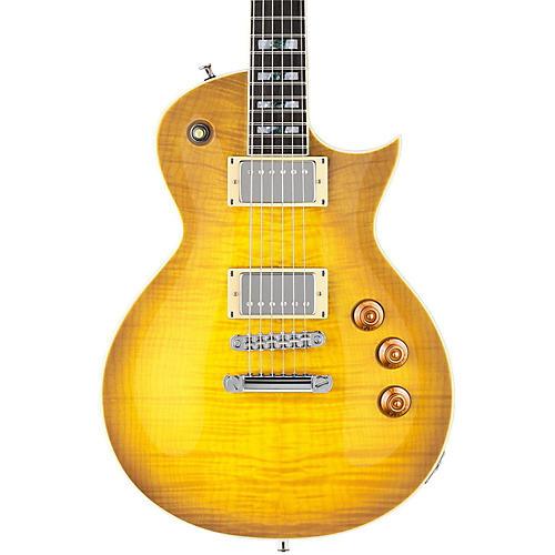 ESP LTD AS-1 Alex Skolnick Electric Guitar Lemon Burst Flame Maple