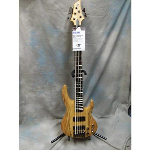 ESP LTD B405SM Spalted Maple Electric Bass Guitar-thumbnail