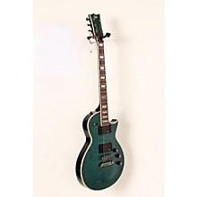 LTD EC-401QMV Electric Guitar Level 2 See-Thru Aqua 190839008152