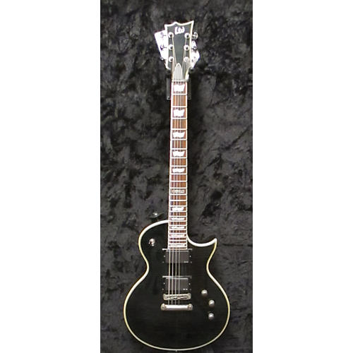 ESP LTD EC401FM Solid Body Electric Guitar Trans Black