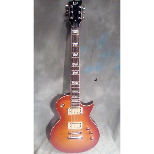 ESP LTD EC401VF Solid Body Electric Guitar Trans Amber