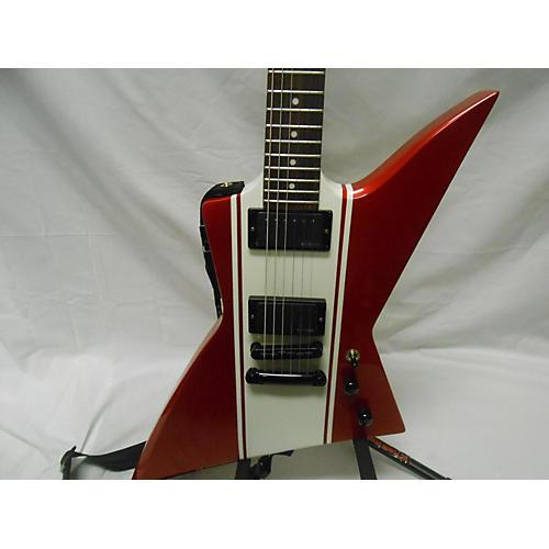 used esp ltd ex400 red and white guitar center. Black Bedroom Furniture Sets. Home Design Ideas