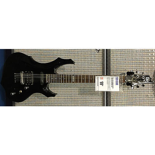 ESP LTD F10 Black Solid Body Electric Guitar-thumbnail