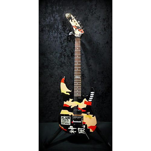 ESP LTD GL200K George Lynch Kamikaze Solid Body Electric Guitar-thumbnail