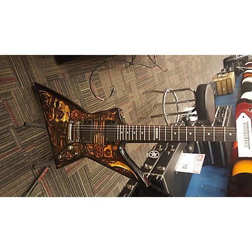 ESP LTD Graphic Series EX-CZ Clockwork Zombie Solid Body Electric Guitar
