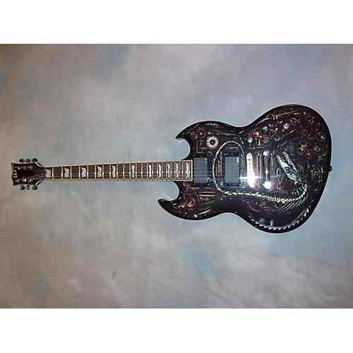 ESP LTD Graphic Series EX Clockwork Zombie Solid Body Electric Guitar