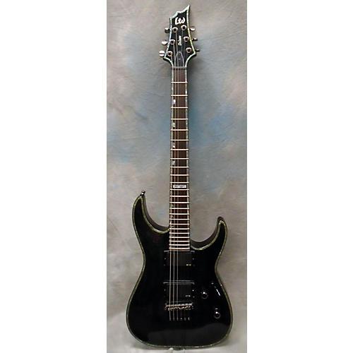 ESP LTD H1001FM Deluxe Solid Body Electric Guitar-thumbnail