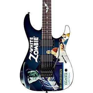 ESP LTD Kirk Hammett Signature White Zombie Electric Guitar by ESP