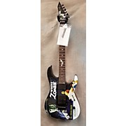 ESP LTD Kirk Hammett Signature White Zombie Solid Body Electric Guitar