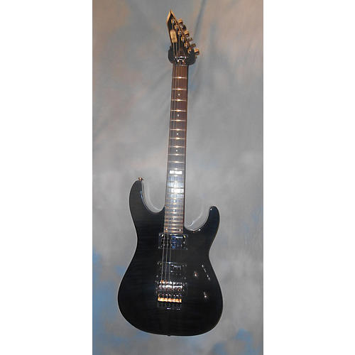 ESP LTD M100FM Solid Body Electric Guitar-thumbnail