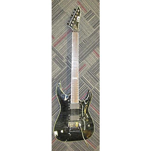 ESP LTD MH350FR Solid Body Electric Guitar Trans Gray
