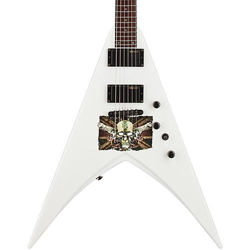 ESP LTD Michael Paget MP-330 V Electric Guitar Graphic Snow White