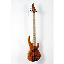 LTD RB-1005 5 String Electric Bass Guitar Level 2 Honey Natural 888365919638