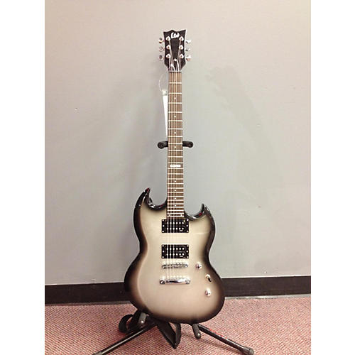 used esp ltd viper 50 silverburst guitar center. Black Bedroom Furniture Sets. Home Design Ideas