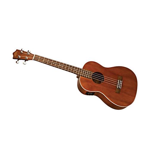 Lanikai LU Series LU-21BEK Baritone Acoustic-Electric Ukulele with Fishman Kula Electronics Natural