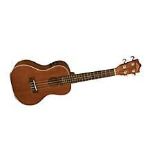 Lanikai LU Series LU-21CEK Concert Acoustic-Electric Ukulele with Fishman Kula Electronics Level 1 Natural