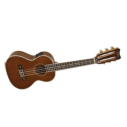 Lanikai LU Series LU-6EK 6-String Tenor Acoustic-Electric Ukulele with Fishman Kula Electronics Natural