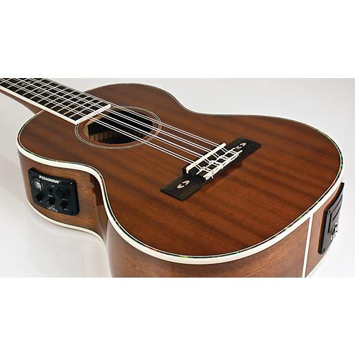 Lanikai LU Series LU-8EK 8-String Tenor Acoustic-Electric Ukulele with Fishman Kula Electronics Natural