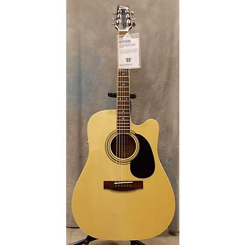 used samick lw028 gsa ceq k acoustic electric guitar guitar center. Black Bedroom Furniture Sets. Home Design Ideas