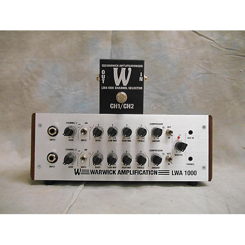 Warwick LWA 1000 Bass Amp Head