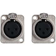 Livewire LWNC3FDL Neutrik NC3FDL1 XLR(F) (PR) Chassis Mnt Connector