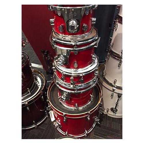 Used Pdp By Dw Lx Drum Kit Candy Apple Red Guitar Center
