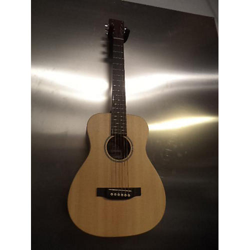 Martin LX1E Left Handed Acoustic Electric Guitar-thumbnail