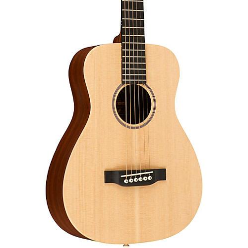 martin lx1e little martin acoustic electric guitar natural guitar center. Black Bedroom Furniture Sets. Home Design Ideas