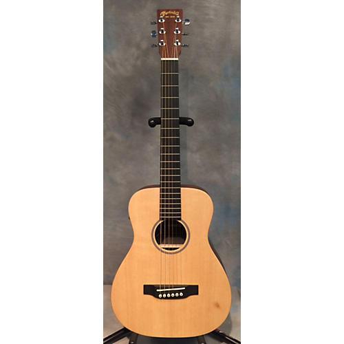 Martin LX1E Natural Acoustic Electric Guitar-thumbnail