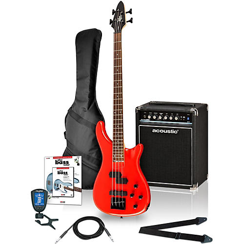 Rogue LX200B Electric Bass Value Pack